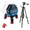 BOSCH GLL 3-50 Nivela laser cu linii + BT 150 Stativ