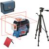 BOSCH GLL 3-80 C + BT 150 Nivela laser cu lini (30 m) + Stativ
