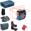 BOSCH GLL 3-80 C + BM 1  Nivela laser cu linii + Suport + L-BOXX