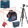 BOSCH GLL 3-80 + BT 150 Nivela laser cu lini (30 m) + Geanta + Stativ