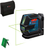 BOSCH GLL 2-15 G + LB 10 Nivela laser cu linii verzi (15 m) + Suport universal