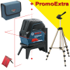 BOSCH GCL 2-15 + RM 1 Nivela laser cu linii (15 m) + Suport professional + HAMA Trepied