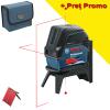 BOSCH GCL 2-15 + RM 1 Nivela laser cu linii (15 m) + Suport professional
