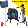 BOSCH GCL 2-15 + RM 1 Nivela laser cu linii (15 m) + Suport professional + ADA DIGIT 167 Stativ pentru constructii 167 cm