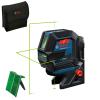 BOSCH GCL 2-50 G + RM 10 Nivela laser verde cu linii (20 m) + Suport professional