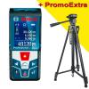 BOSCH GLM 50 C Telemetru cu laser (50 m) cu Bluetooth + ADA DIGIT 167 Stativ pentru constructii 167 cm