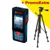 BOSCH GLM 120 C + BT 150 Telemetru cu laser (120 m) cu transfer de date catre telefoane, tablete, PC + Trepied