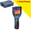 BOSCH GTC 400 C Camera termica digitala Li-Ion, cu 1 acu de 1.5Ah + L-BOXX (Folosit la demonstratii)