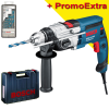 BOSCH GSB 19-2 RE (MR) Masina de gaurit cu percutie 850 W +  Set 7 burghie multifunctionale CYL-9, 4-12 mm