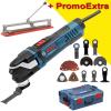 BOSCH GOP 40-30 Multicutter 400 W + Accesorii + L-BOXX + TAIETOR FAIANTA 40 CM