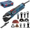 BOSCH GOP 40-30 Multicutter 400 W + Accesorii + L-BOXX