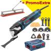BOSCH GOP 55-36 Multicutter 550 W + Accesorii + L-BOXX + TAIETOR FAIANTA 40 CM