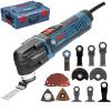 BOSCH GOP 30-28 Multicutter 300 W + Accesorii + L-BOXX