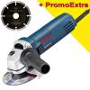 BOSCH GWS 850 CE Polizor unghiular 850 W, diametru disc 125 +  Disc dia universal 125 mm SAMEDIA