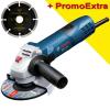 BOSCH GWS 7-115 E Polizor unghiular 720 W, diametru disc 115 +  Disc dia universal 115 mm SAMEDIA
