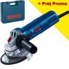 BOSCH GWS 9-125 S Polizor unghiular 900 W, diametru disc 125 + Valiza