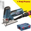 BOSCH GST 160 CE Ferastrau vertical 800 W + L-BOXX