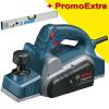 BOSCH GHO 6500 Rindea 650 W +  Nivela de aluminiu 600 mm UNIOR