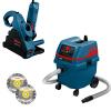 BOSCH GNF 35 CA Masina de frezat caneluri in zidarie 1400 W + GAS 25 L SFC Aspirator + 2 Discuri diamantate 150 mm universale
