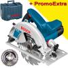 BOSCH GKS 190 Ferastrau circular 1400 W + Valiza +  Disc Multimaterial 190x30x54T