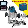BOSCH GMF 1600 CE Masina de Frezat Multifunctionala 1600 W + L-BOXX +  Set 12 freze cu tija de 8 mm TIVOLY