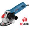 BOSCH GWX 750 (115) Polizor unghiular 750 W, diametru disc 115 cu X-LOCK