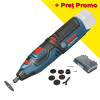BOSCH GRO 12V-35 (SOLO) Multifunctional rotativ Li-Ion, fara acumulator in set