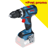 BOSCH GSB 18V-60 C (SOLO) Masina de gaurit cu percutie brushless, Li-Ion, 60Nm, fara acumulator in set