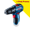 BOSCH GSB 12V-30 (SOLO) Masina de gaurit cu percutie brushless Li-Ion, 30Nm, fara acumulator in set