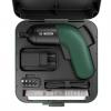 BOSCH IXO 6 Colour Edition VERDE Set 4 surubelnite cu acumulator Li-Ion, 3.6V, 4.5Nm + Cutie de plastic