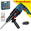 BOSCH GBH 2-26 DFR Ciocan rotopercutor SDS-plus 800 W, 2.7J + Set 3 burghie SDS-plus-5X 6/8/10mm