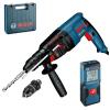 BOSCH GBH 2-26 DFR Ciocan rotopercutor SDS-plus 800 W, 2.7J + GLM 30 Telemetru cu laser
