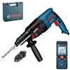 BOSCH GBH 2-26 DFR Ciocan rotopercutor SDS-plus 800 W, 2.7J + GLM 40 Telemetru cu laser