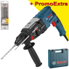 BOSCH GBH 2-28 Ciocan rotopercutor SDS-plus 880 W, 3.2 J +  Set 4 burghie SDS PLUS 5-6-8-10 DIAGER