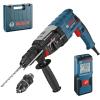 BOSCH GBH 2-28 F Ciocan rotopercutor SDS-plus 880 W, 3.2 J + GLM 30 Telemetru cu laser