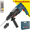 BOSCH GBH 2-28 F Ciocan rotopercutor SDS-plus 880 W, 3.2 J +  Set 4 burghie SDS PLUS 5-6-8-10 DIAGER