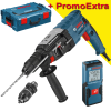 BOSCH GBH 2-28 F Ciocan rotopercutor SDS-plus 880 W, 3.2 J + L-BOXX + GLM 30 Telemetru cu laser