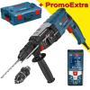 BOSCH GBH 2-28 F Ciocan rotopercutor SDS-plus 880 W, 3.2 J + L-BOXX + GLM 50 C Telemetru cu laser (50 m) cu Bluetooth