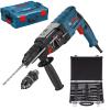 BOSCH GBH 2-28 F Ciocan rotopercutor SDS-plus 880 W, 3.2 J + L-BOXX +  Set mixt 11 accesorii SDS-PLUS