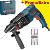 BOSCH GBH 240 Ciocan rotopercutor SDS-plus 790 W, 2.7 J +  Set 3 burghie SDS-PLUS-5X, 6/8/10mm