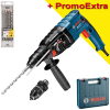BOSCH GBH 2-24 DF Ciocan rotopercutor SDS-plus 790 W, 2.7 J +  Set 4 burghie SDS PLUS 5-6-8-10 DIAGER