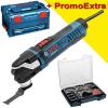 BOSCH GOP 40-30 Multicutter 400 W + Set 36 accesorii in I-BOXX