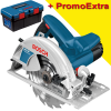 BOSCH GKS 190 Ferastrau circular 1400 W + Cutie Toolbox PRO