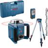 BOSCH GRL 400 H Nivela laser rotativa (400 m) + BT 152 Trepied + GR 2400 Rigla