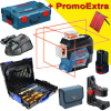 BOSCH GLL 3-80 C + BM 1 Nivela laser cu linii + Suport + L-BOXX + 26 unelte GEDORE in L-BOXX 102