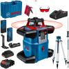 BOSCH GRL 600 CHV + LR 6 Nivela laser rotativa orizontal/vertical (600 m) + Receptor si telecomanda + BT 170 Trepied + GR 240 Rigla