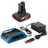 BOSCH GBA12VW + GAL1830W Acumulator Li-Ion, 12 V, 2.5 Ah, Wireless + Incarcator de masina Li-Ion, 12-18 V, Wireless