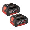 BOSCH GBA18V Set 2 acumulatori LI-Ion, 18V, 4Ah