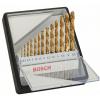 BOSCH  Caseta 13 burghie metal HSS-TIN 1-6.5mm
