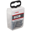 BOSCH  Set 25 biti Extra Hard 25 mm, T30 in cutie Tic-Tac